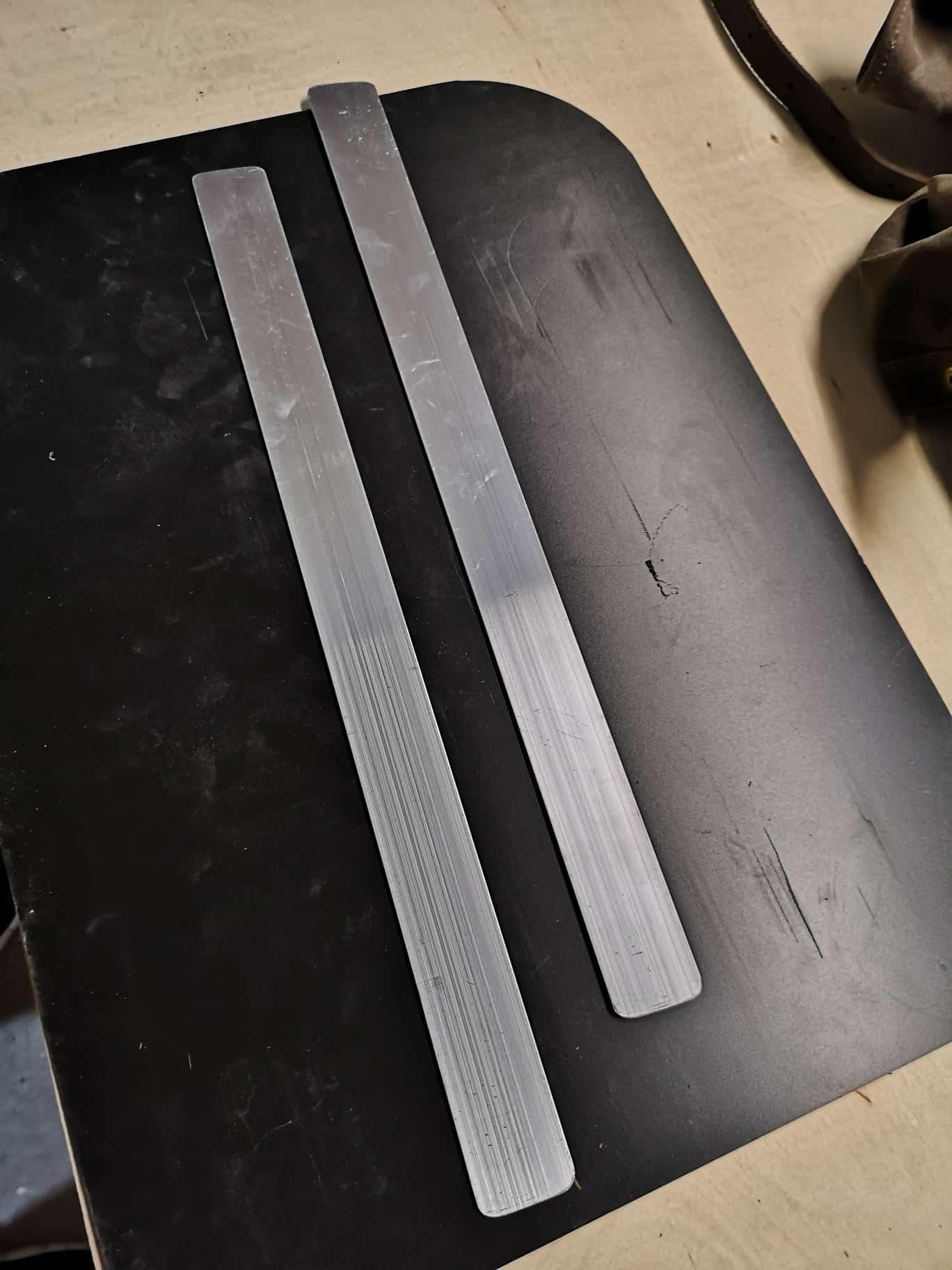 Naturbursche - Frost River Isle Royale - Backpalte - Rückenplatte - Back Cover - Rahmen - Frame - Internal - Howto - DIY - MYOG