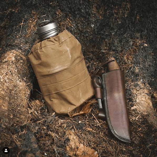 Keith Titanium Flasche Pouch - Tasche - Behälter - Beutel