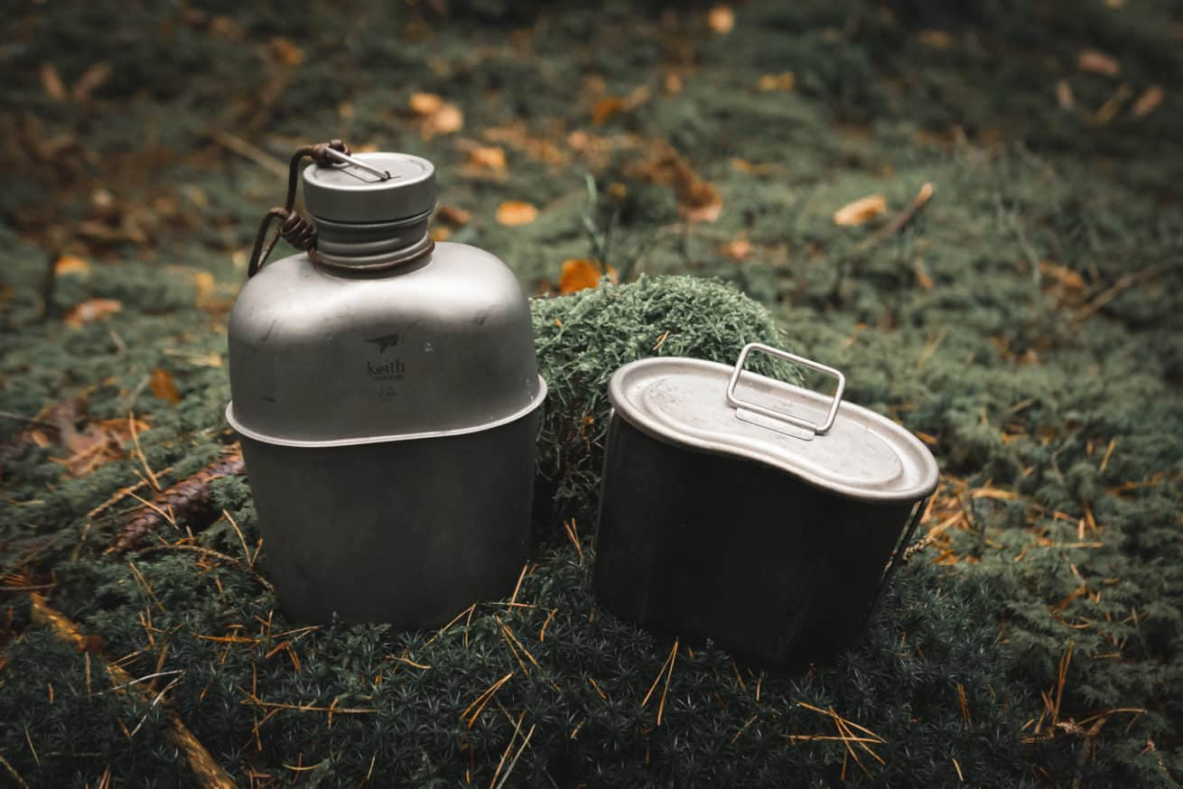 Keith Titanium Canteen Set