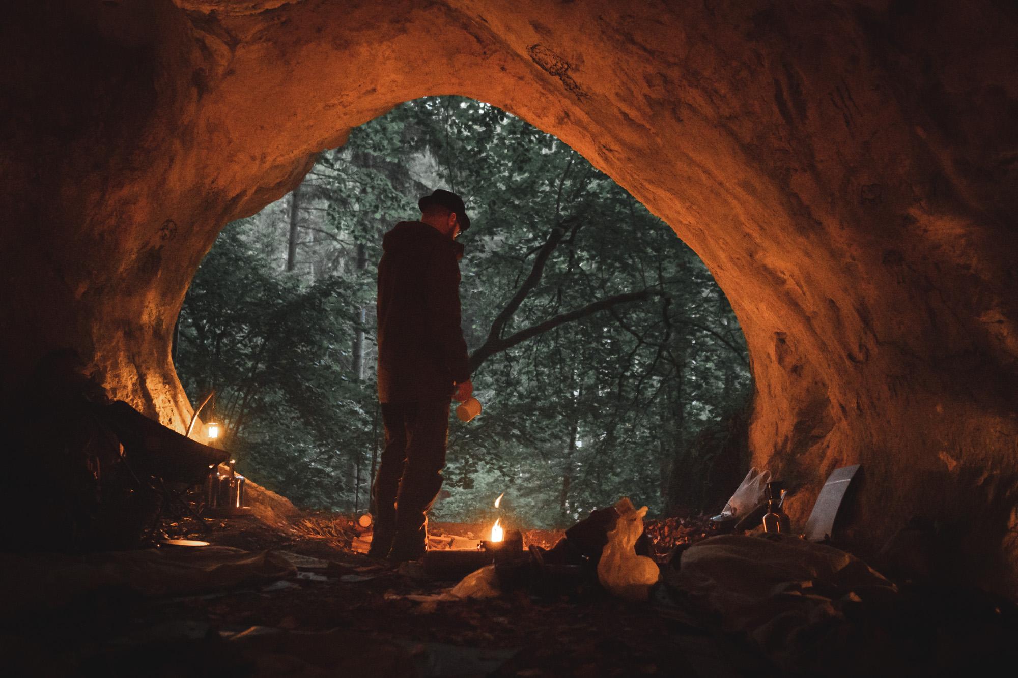 Naturbursche Markus - Oberneder Höhle - Overnighter - Biwaksack - Höhlenübernachtung