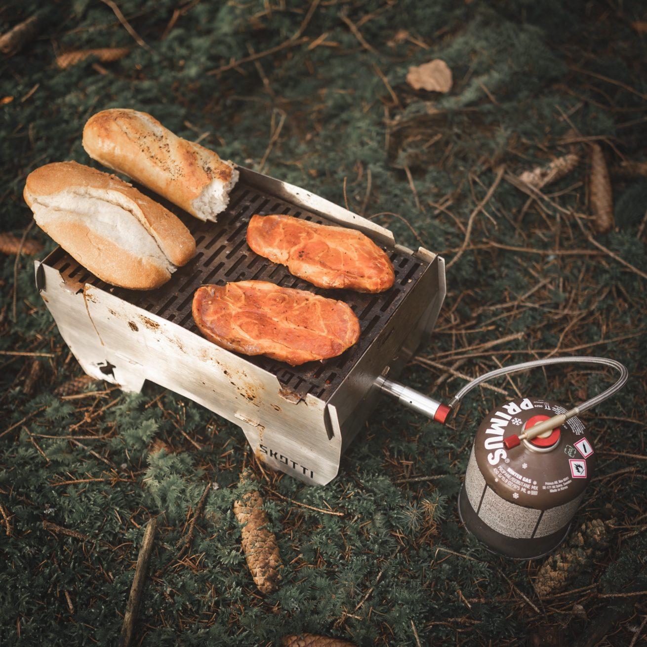Naturbursche - Skotti-Grill - Test im Wald - Bushcraft