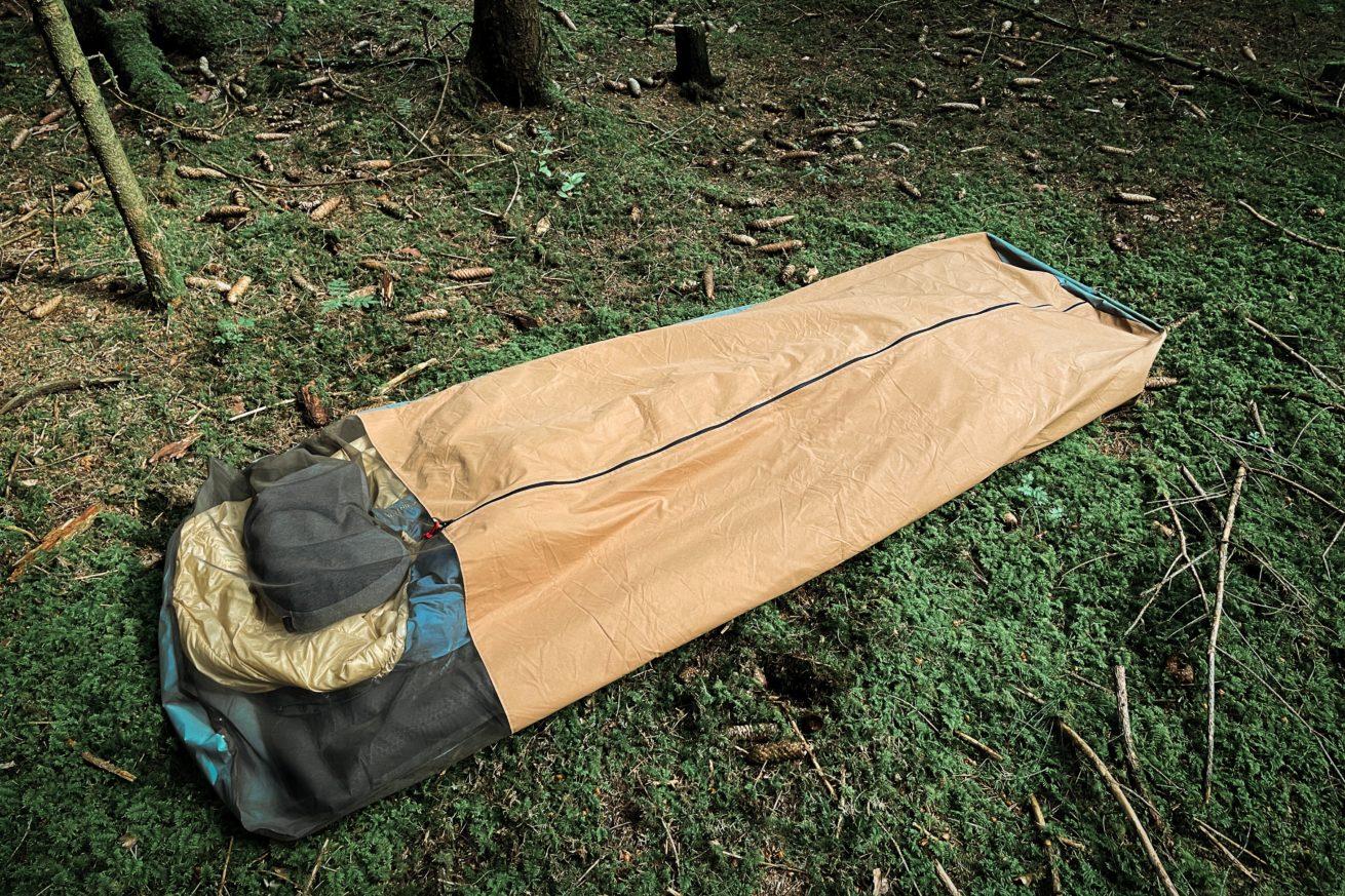 Biwaksack Baumwolle Etaproof Insektenschutz Bushcraft Camping